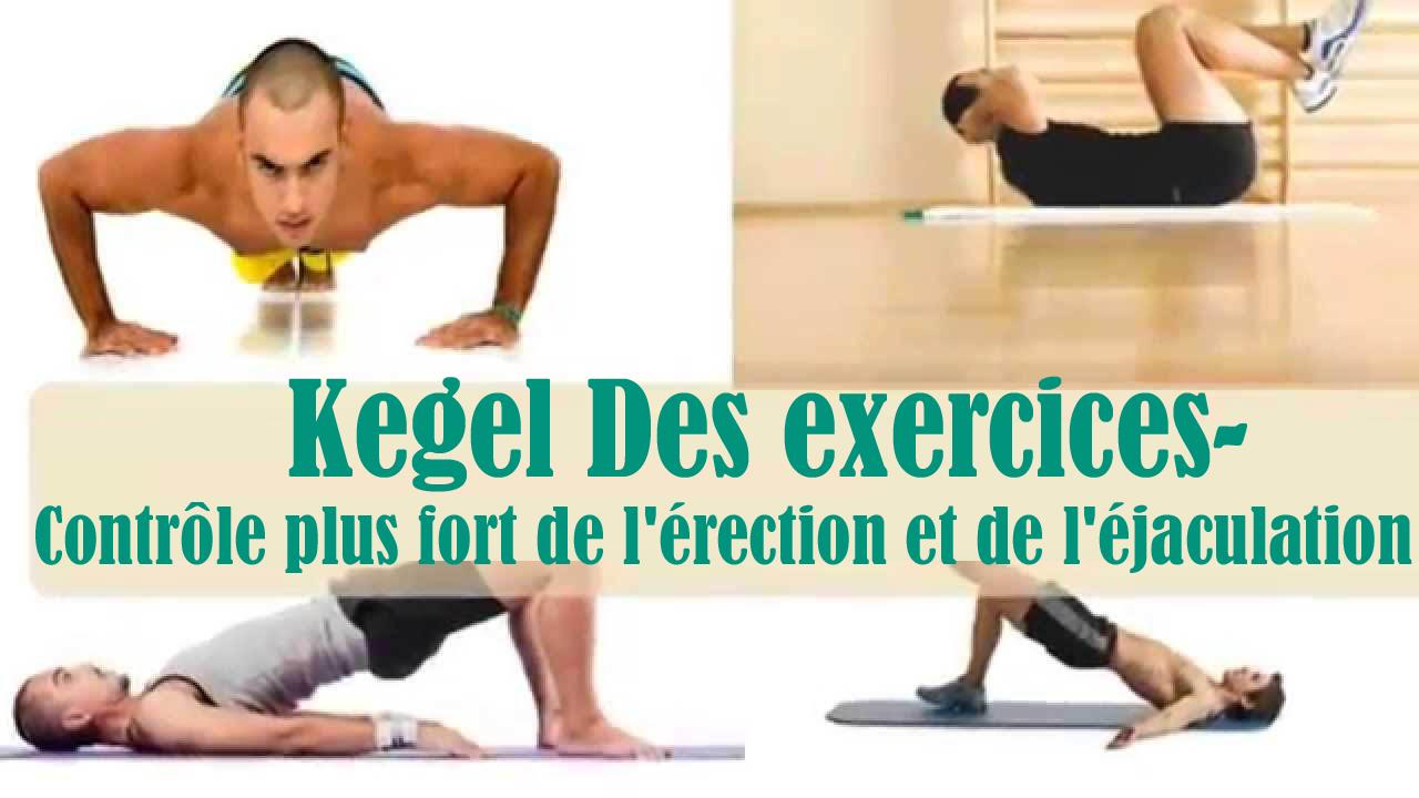 Kegel Des exercices- Contrôle plus fort de l'érection et de l'éjaculation