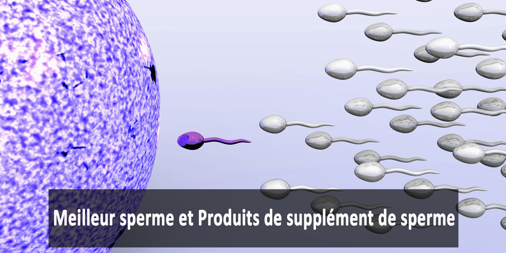 Meilleur sperme et Produits de supplément de sperme