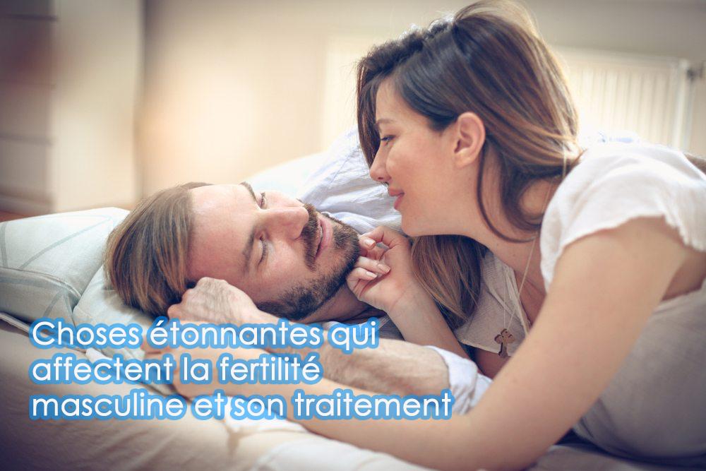 Choses étonnantes qui affectent la fertilité masculine et son traitement