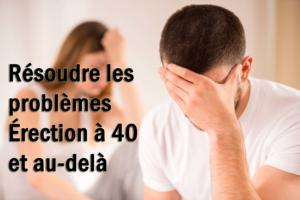 Comment résoudre les problèmes Érection à 40 et au-delà