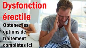 Dysfonction érectile - Obtenez les options de traitement complètes ici