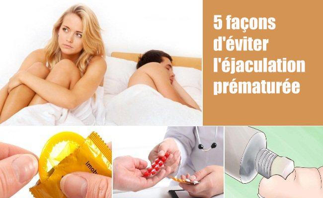 5 façons d'éviter l'éjaculation prématurée